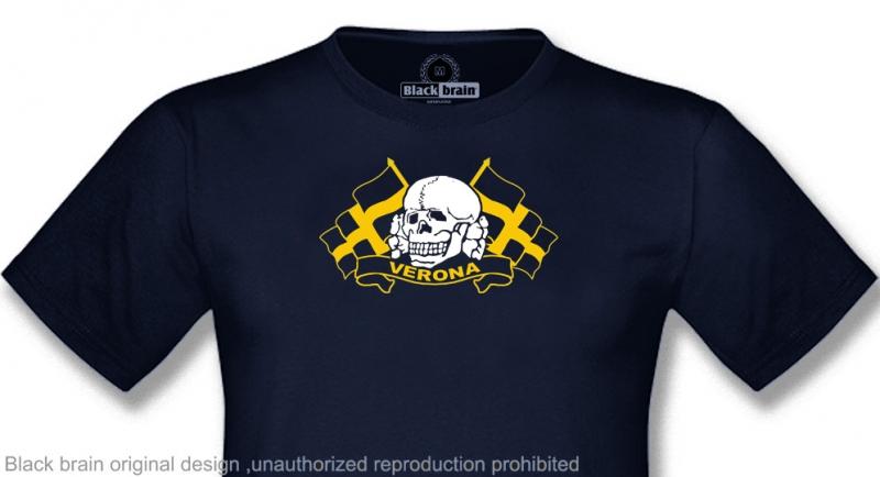 T-SHIRT VERONA TESCHIO BANDIERE T-shirts