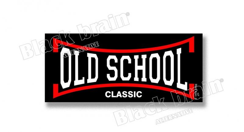 STICKER OLD SCHOOL Pins & Stickers