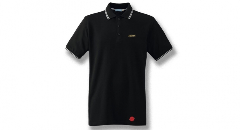 OFFENCE BEST DEFENCE POLO BLACK