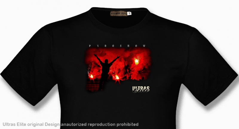 T-SHIRT ULTRAS ELITE PYROSHOW Ultras Elite