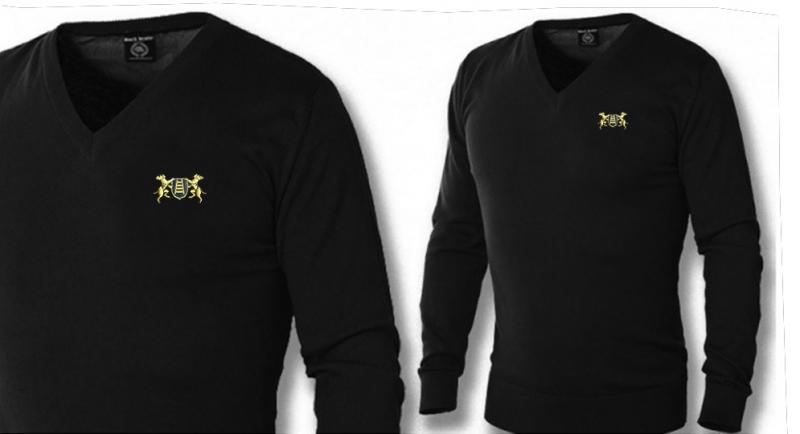 PULLOVER V NECK MASTINI SCUDO SCALA Polos Pullovers Shirts