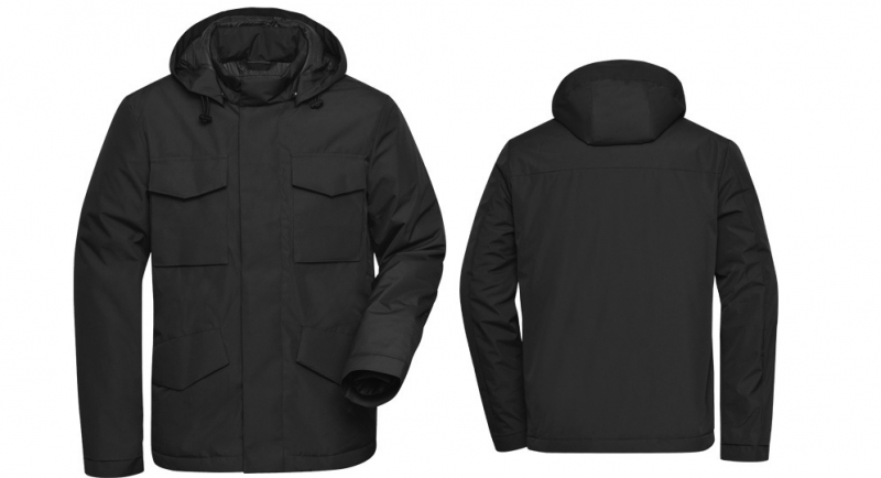 FIELDPARKA JACKET BLACK Jackets