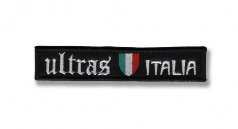 PATCHE ULTRAS ITALIA VELCRO Patches