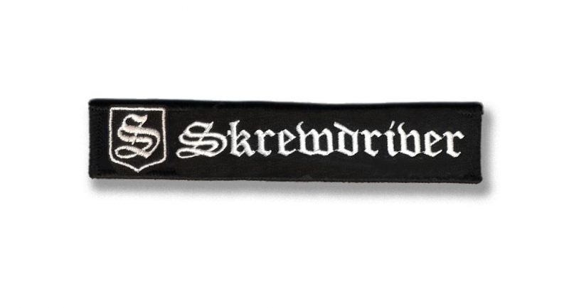 PATCHE SKREWDRIVER VELCRO Patches