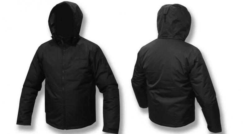 JACKET PARKA NORTH FANS BLACK Jackets