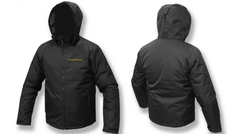 JACKET PARKA NORTH FANS VERONA BLACK Jackets