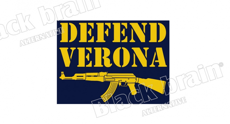 STICKER DEFEND VERONA Pins & Stickers