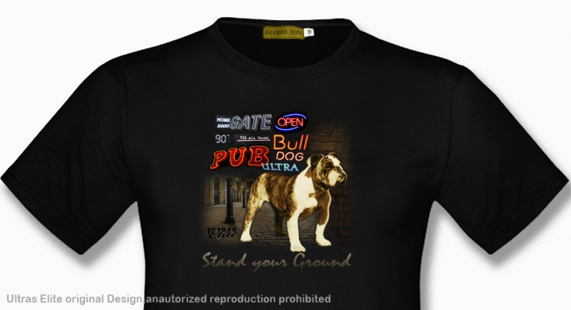 T-SHIRT ULTRAS ELITE BULLDOG SIGNS Ultras Elite