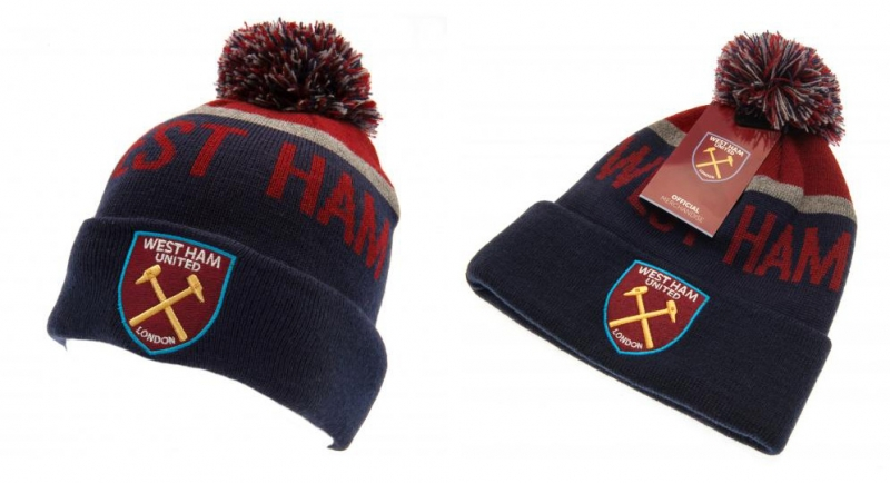 WEST HAM PON PON BEANIE (official) Caps