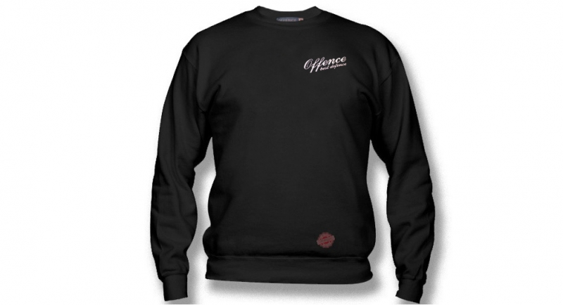 SWEATER OFFENCE BEST DEFECE CLASSIC HEART