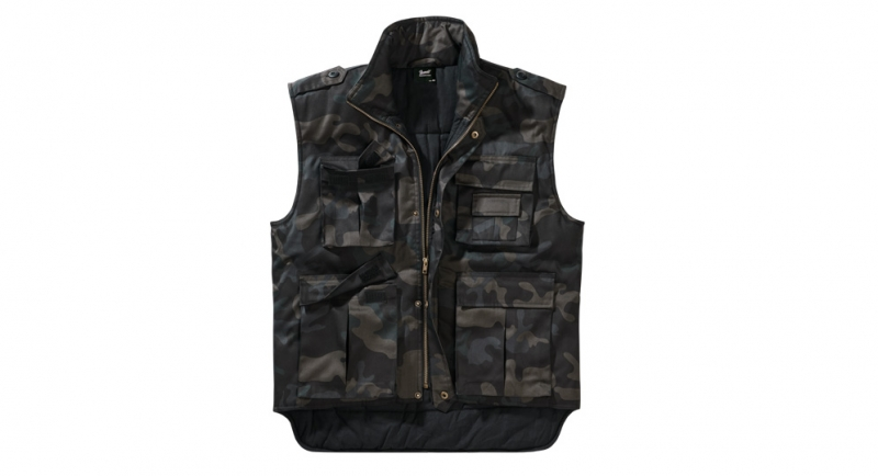 VEST BLACK CAMO Jackets