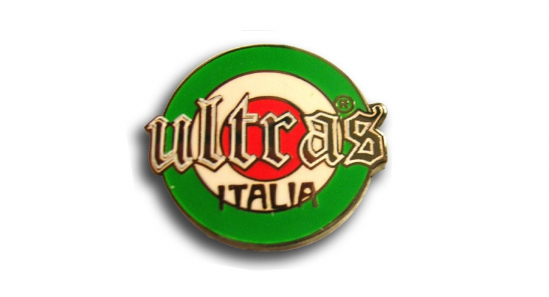 PIN ULTRAS ITALIA Pins & Stickers