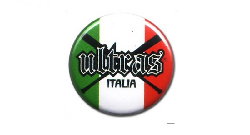 BUTTON PIN ULTRAS ITALIA MAZZE Pins & Stickers