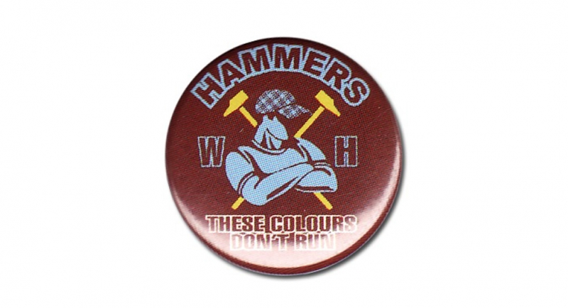 BUTTON PIN HAMMERS Pins & Stickers