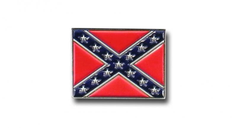 PIN CONFEDERATE FLAG