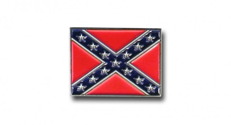 PIN CONFEDERATE FLAG Pins & Stickers