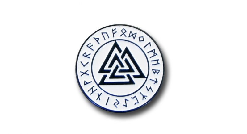 PIN RUNE RING VALKNUT Pins & Stickers