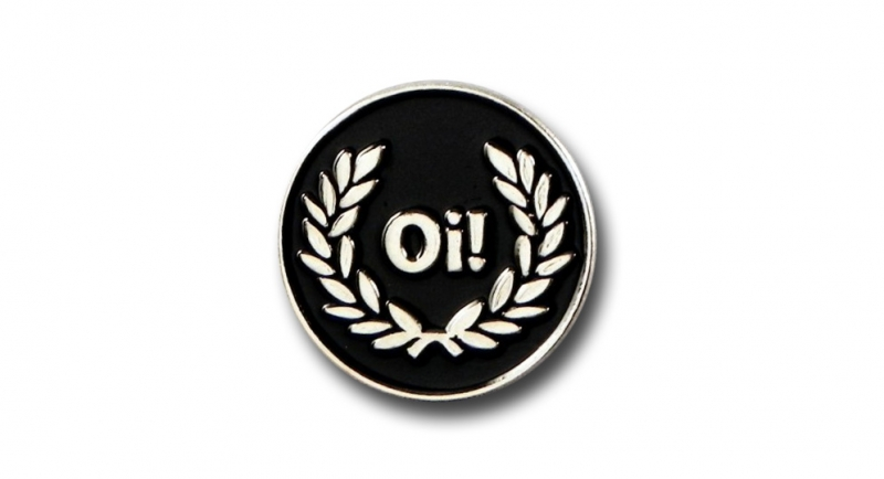 PIN Oi! Laurel Pins & Stickers