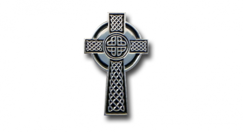 PIN CELTIC CROSS ART Pins & Stickers
