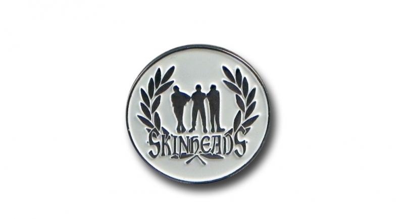 PIN SKINHEADS LAUREL Pins & Stickers