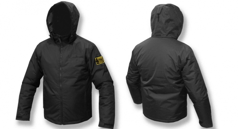 JACKET NORT FANS BLACK Zero Clothing