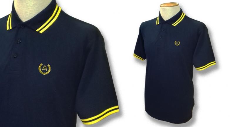 POLO TIPPED ALLORO SCALA Polos Pullovers Shirts