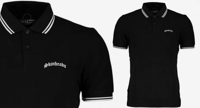 POLO TIPPED SKINHEADS Polos Pullovers Shirts