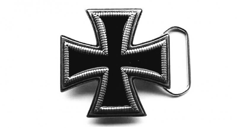 BUCKLE IRON CROSS Buckles