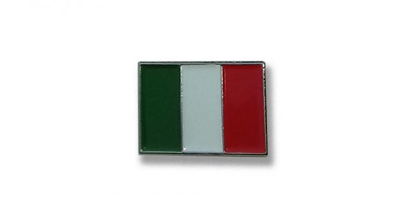 PIN ITALIA BANDIERA Pins & Stickers