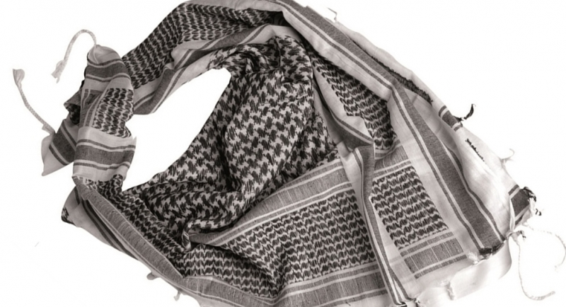 SHEMAGH BLACK&WHITE Scarves