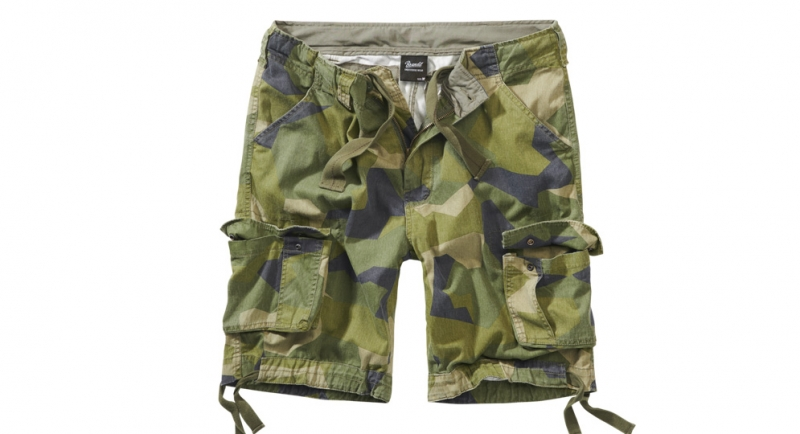 BERMUDA URBAN LEGEND SWEDISH CAMO Shorts & trousers