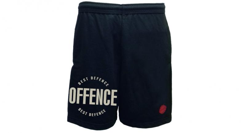 SHORTS OFFENCE BEST DEFENCE DARK BLUE Offence best defence