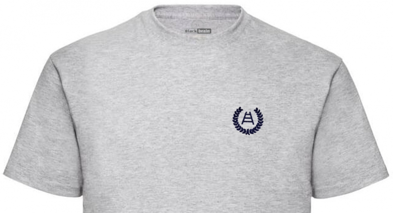 T-SHIRT GRIGIA ALLORO SCALA CUORE T-shirts