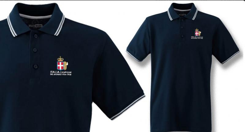 POLO ITALIA CAMPIONE DEL MONDO '34 - '38 Polos Pullovers Shirts
