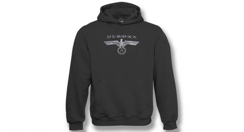 HOODY AQUILA VERONA SILVER Sweaters & Hoodies
