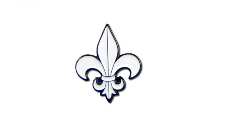 PIN FLEUR DE LIS Pins & Stickers