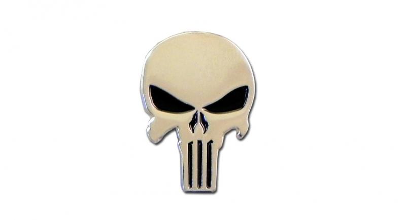 PIN PUNISHER SKULL Pins & Stickers
