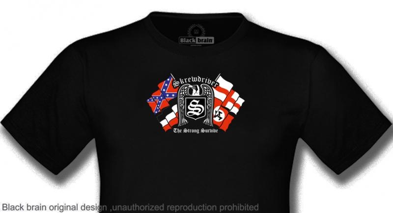 T-SHIRT SKREWDRIVER THE STRONG SURVIVE T-shirts