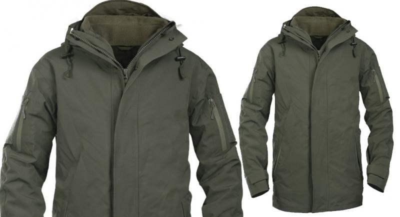CHECK POINT PARKA OLIVE Jackets